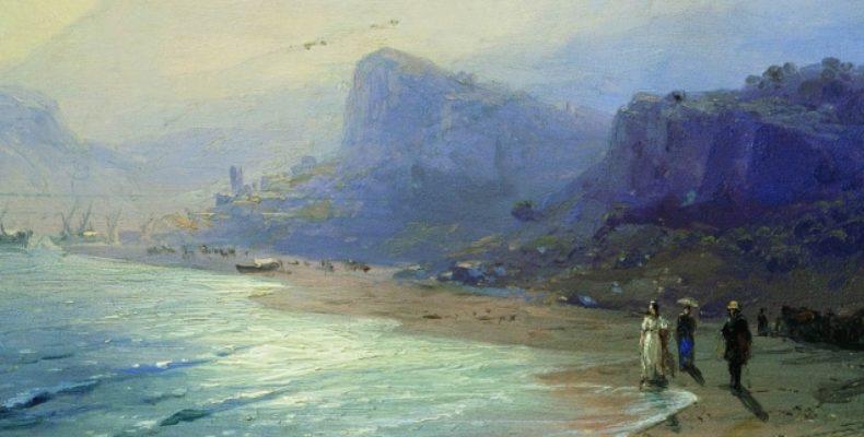 Пушкин и Крым в картинах Айвазовского