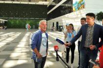 Олег Газманов записал аудиоприветствие для пассажиров аэропорта Симферополь