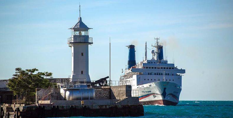 «Князь Владимир» не может зайти в ялтинский порт
