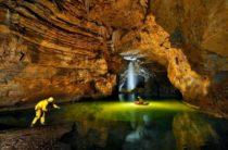 В Крыму обнаружена новая пещерная система огромных размеров
