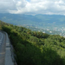 Обвал остановил движение по дороге Кореиз – Алупка
