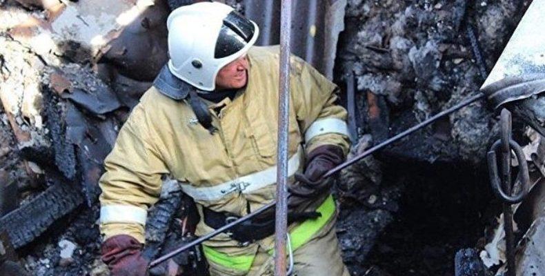 Пожар в ялтинской «высотке»: 20 спасенных