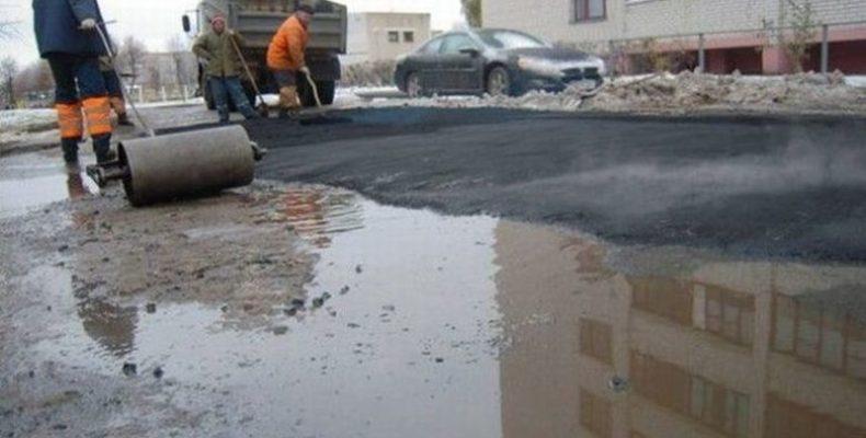В России разрешат класть асфальт в плохую погоду