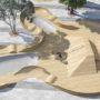Проект благоустройства Пионерского парка Ялты: новый мост, спортплощадки, скейт-парк (фото)