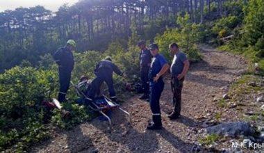 Ялта: в горах разбился велосипедист