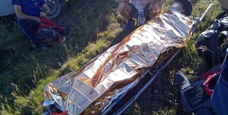 Крым: парапланерист рухнул с высоты 60 метров