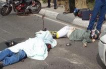 Авария на трассе в районе 10-го микрорайона в Ялте (видео)