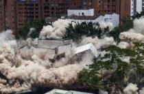 Колумбия: взорвали дом, где жил Пабло Эскобар (видео)
