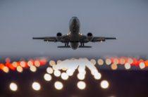Самолет попал в зону турбулентности (видео)