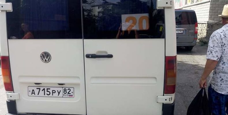 Ялта: водитель маршрутки №20 лишен премии за хамское поведение