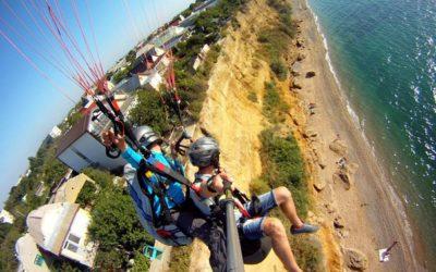 Полет на параплане | Кача