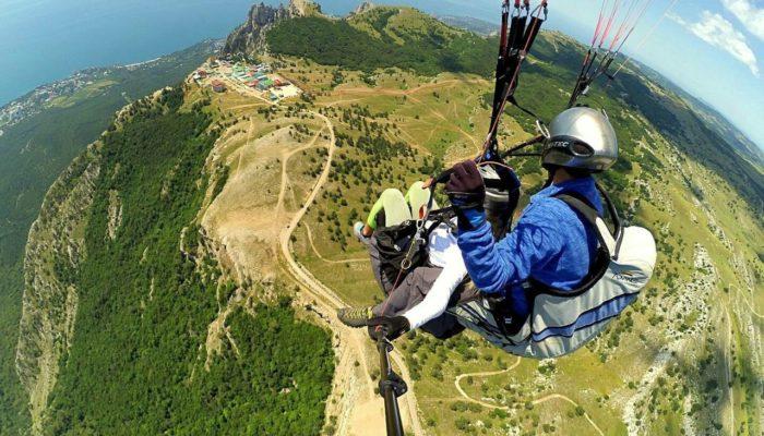 Полеты на параплане в тандеме в Крыму