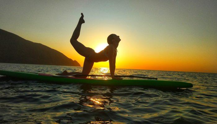 SUP. Рассветный Йога