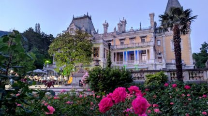 В Массандровском дворце чарующее музыки звучанье