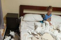 Евпатория: потолок хостела рухнул на туристов