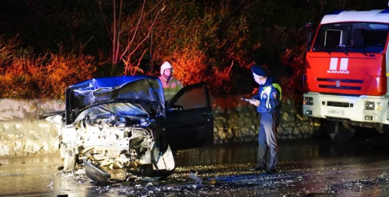 Ялта: задержали водителя автомобиля, скрывшегося с места ДТП