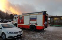 Крым: Пожар на Ай — Петри (видео)