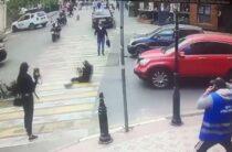 Ялта: сбила мопедиста и скрылась (видео)