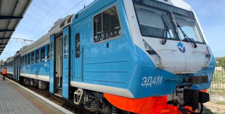Новые электрички в Крыму: цена, время в пути
